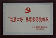 """""""双强六好""""基层示范党组织"""