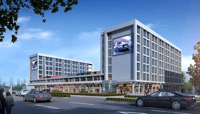 宁波金恒德人 • 车 • 生活商业广场项目暨奥迪城市展厅