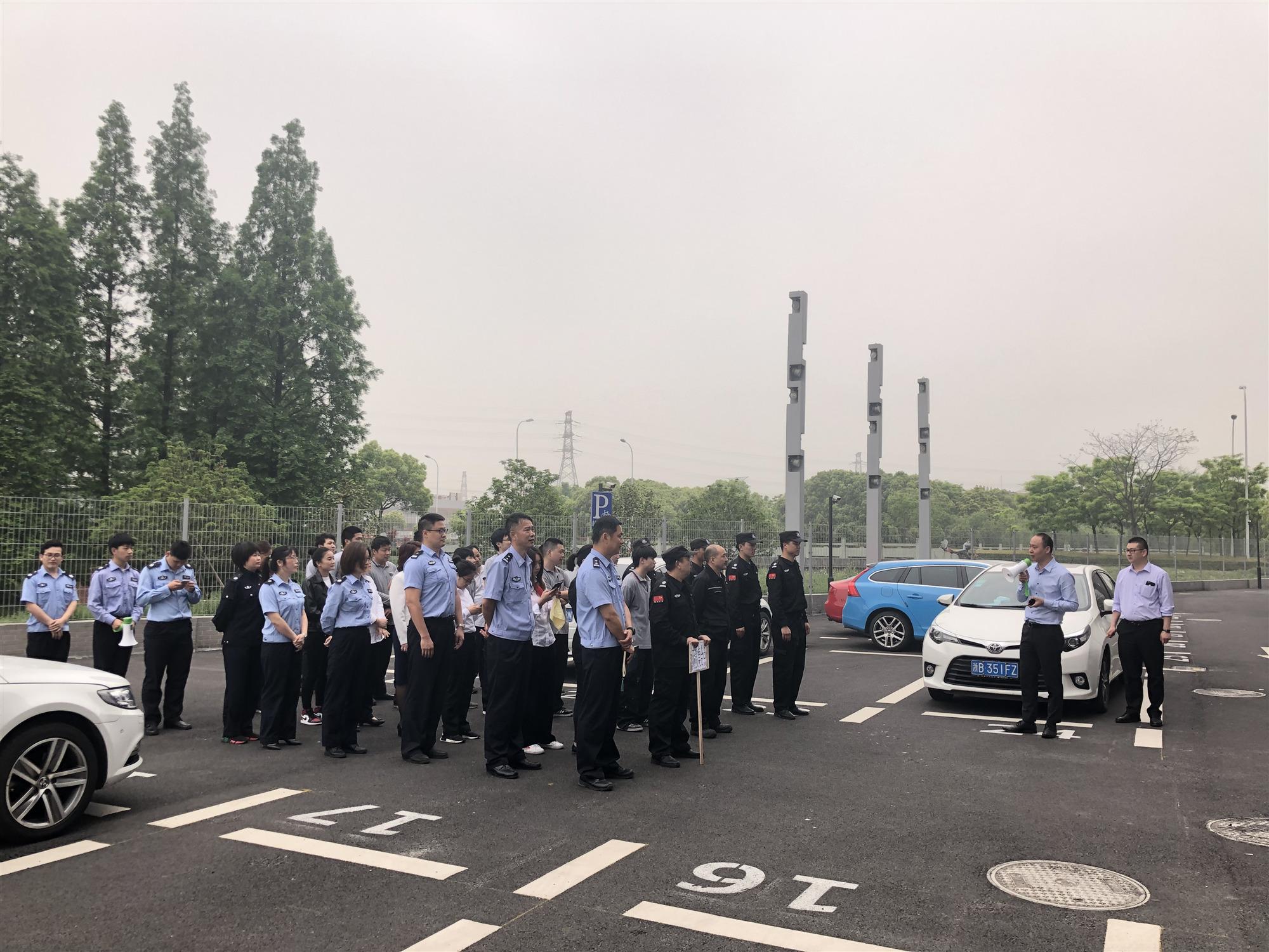 宁波金恒德奥开展2019年春季消防安全演练