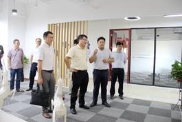 浙江省就业管理中心副主任陈根元一行莅临天台kok登录考察调研